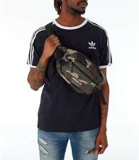 Adidas Originals Utility Messenger Bag Green Camo Adjustable Hip Fanny Belt Pack