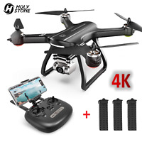 Holy Stone HS700D RC Drones with 4K HD Camera GPS 5G Quadcopter 3 Batteries US