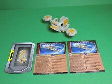 Bakugan Barias Battle Gear grey Gold 80G Season 3 S3 Gundalian Invaders