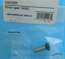 Vintage Tamiya TRF 801x 1:8 nitro buggy 13 tooth Pinion Gear RC Part