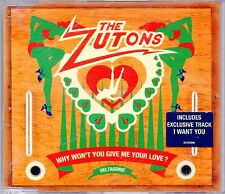 THE ZUTONS -Why Won't You Give Me Your Love?- 2 track CD Single