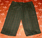 PANTACOURT BERMUDA KNICKERS LAINAGE CARREAUX MADE IN ITALY T 38 NEUF