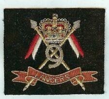 Blazer Badge Gold / Silver Wire, 9th Lancers