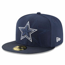 Dallas Cowboys NFL Football Kappe Cap New Era 5950 Size 7 1/4 On Field Sideline