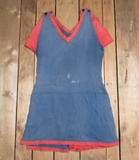 Vintage Womens Antique Swimsuit Cotton Knit Bathing Suit early 1900s Beach Nice!