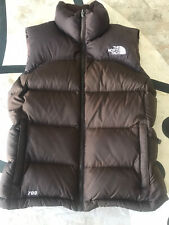 EUC THE NORTH FACE  NOVELTY NUPTSE PUFFER 700 DOWN  Brown VEST Women's L