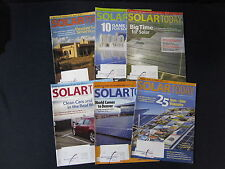 Solar Today Magazine: 2012 Misc Set of 6 - Includes Shipping!!