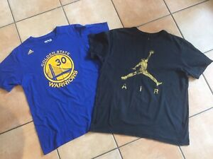 Basketball Tshirts Adidas Golden State & Nike Size L -XL