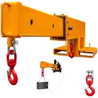 Forklift Mobile Crane Forklift Crane Attachment 5500lbs Lifting Hoist Jib Boom