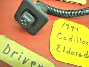 Mar 1996-1999 Cadillac Eldorado Driver Bucket Seat Lumbar Switch Part