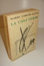 SIGNED Mario Vargas Llosa La Casa Verde First Edition The Green House Spanish