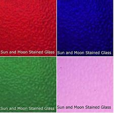 Wissmach Stained Glass Sheet Pack - 4 Sheets of Summer Color (Size 8X10)