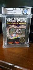 Wheel of Fortune, NINTENDO, NES, First Production, 3 screw, Graded WATA 6.5 CIB