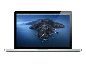 """Apple MacBook Pro A1286 Quad Core i7 15.4"""" 500Gb SSHD, 8Gb Ram Laptop (mid 2012)"""