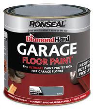 Ronseal Diamond Hard Garage Floor Paint 2.5L Slate Concrete Stone