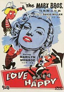 Love Happy (1949) - The Marx Bros, Marilyn Monroe (Region All)