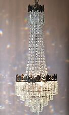 Antique / Vintage Ceiling Lighting French Empire Crystal Chandelier Lamp Light