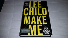 A Jack Reacher Novel: Make Me by Lee Child (2015, Hardcover) SIGNED 1st/1st