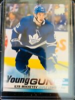 2019-20 UPPER DECK ILYA MIKHEYEV YOUNG GUNS TORONTO MAPLE LEAFS #210 RC