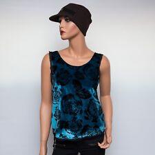 NWT Winter Kate NRT658 Rose Printed Velvet Camisole $230
