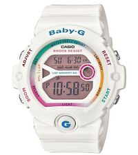 Casio Baby-G * BG6903-7C Rainbow & White Resin Runners 60 Lap COD PayPal