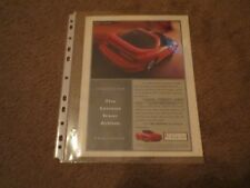 1995 PONTIAC FIREBIRD TRANS-AM VINTAGE MAGAZINE PROMO ADVERTISEMENT