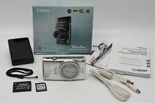 Canon PowerShot ELPH 340 HS 16.0MP Digital Camera Silver w/ 16gb Memory Card