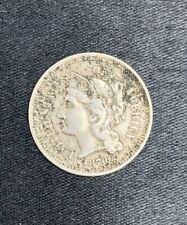 1870 XF/VF+ 3 Cent Nickel