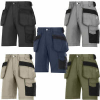 SNICKERS 3023 WORK SHORTS RIP STOP HOLSTER POCKETS CRAFTSMEN *FREE DELIVERY*