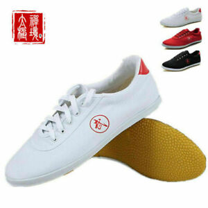 Kungfu Tai Chi Shoes Martial Arts Sneakers Unisex Sport Boxing Canvas Footwear