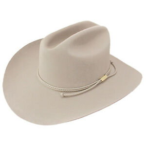 Stetson® 6X Carson Silverbelly Felt Hat With Free Hat Brush