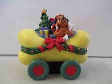 DR. SEUSS HOW THE GRINCH STOLE CHRISTMAS MAX THE DOG IN A BONE SHAPED CAR