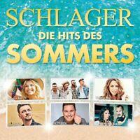Schlager-die Hits des Sommers Doppel-CD NEU OVP