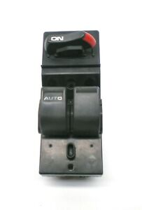 * 96-00 Honda Civic Coupe DARK GRAY Window Control Switch Driver Side OEM