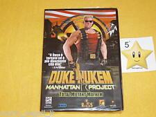DUKE NUKEM Manhattan Project  PC  NUOVO SIGILLATO vers. ITALIANA NEW  STUPENDO!!