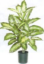 """40"""" SILK DIEFF PLANT BUSH ARTIFICIAL PALM POT ARRANGEMENT FLORAL FLOWER TREE IVY"""