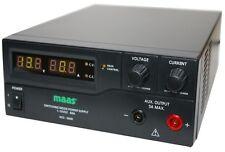Schaltnetzteil MAAS HCS-3600, 1-15V DC / 0-60 A, Neu