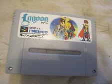 Lagoon  (Super Famicom, 1991)JAPAN VERSION ONLY