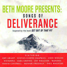 Beth Moore Presents : Songs of Deliverance CD Get Out of That Pit Inspired