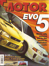 Motor 98 May Volvo XC70 E39 SVO Falcon 215i WRX STi Coupe Type R RS Evo V MX5