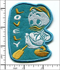 20 Pcs Embroidered Iron on patches Lovely Cartoon Duck 6.1x8.1cm AP032NDB