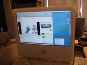Apple iMac G5 17 2Ghz 160G DVD-RW Free Upgrade 1GB RAM. Ideal for Email/Accounts