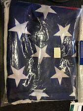 USA FLAG 2 YARDS (FLY) MARINE QUALITY BUNTING MATERIAL HAS LOOP & LANYARD
