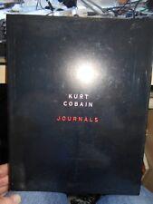 Kurt Cobain Journals by Kurt Cobain HC/DJ both VG++