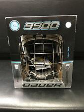 Bauer 9900 Hockey Helmet Combo - White / White - X-Large