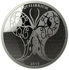 EQUILIBRIUM 2019 - $5 Dollars TOKELAU 2019 1 oz Silver Proof coin