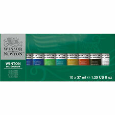 Winsor & Newton Winton Oil Colour for Artists - 10 x 37ml Tube Set