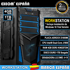 ORDENADOR DE SOBREMESA PC D1800M 4,82GHz 4GB RAM 1TB HD HDMI - MARCA ESPAÑA