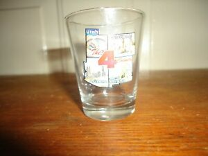 THE 4 CORNERS STATES SOUVENIR SHOT GLASS