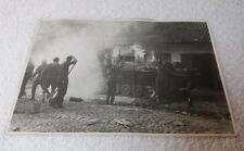 WW2 Real Battle Photograph of a German Panzer III 3 On Fire! 7 x 5